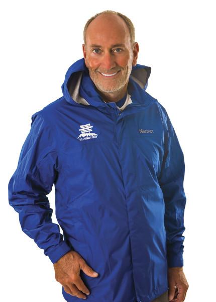 marmot preclip jacket -- blue